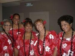 Aunty Leina`ala, Lehua, Loke, Maile, Mililani.